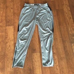 Puma Dry Cell Gray Slim Pants Joggers Sz Xlarge